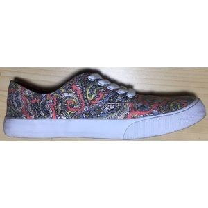 Mossimo canvas shoes paisley sneakers 6